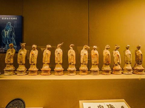 陕西历史博物馆旅游景点图片