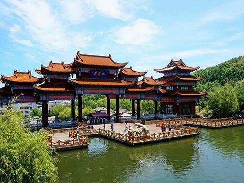 威海华夏城旅游景点图片