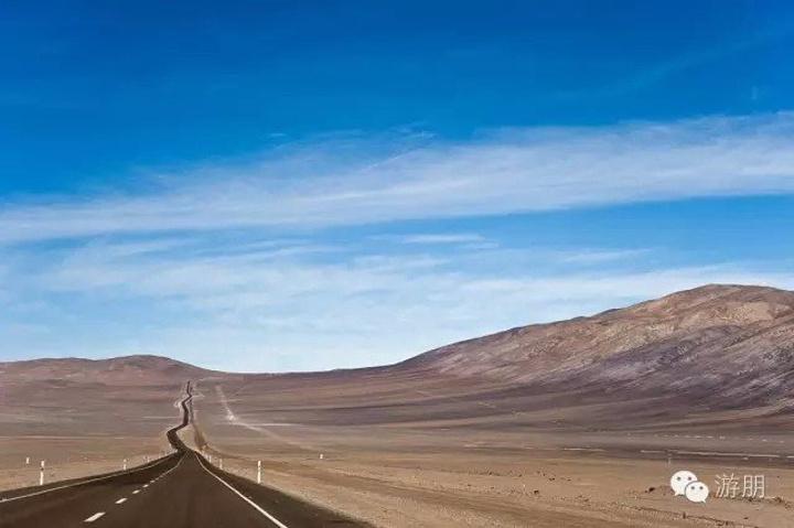 """""""抵达后驱车前往素有""""阿塔卡马沙漠 绿洲""""、""""阿塔卡马大门""""之称的边陲小镇圣佩罗德阿塔卡马,沿途..._阿塔卡马沙漠""""的评论图片"""