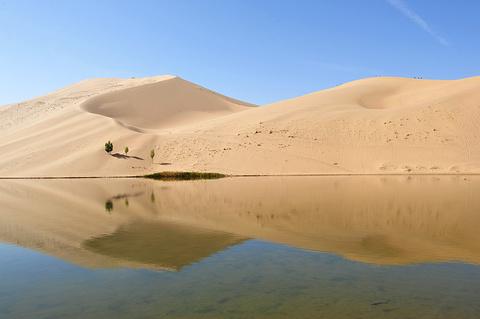 巴丹湖旅游景点攻略图