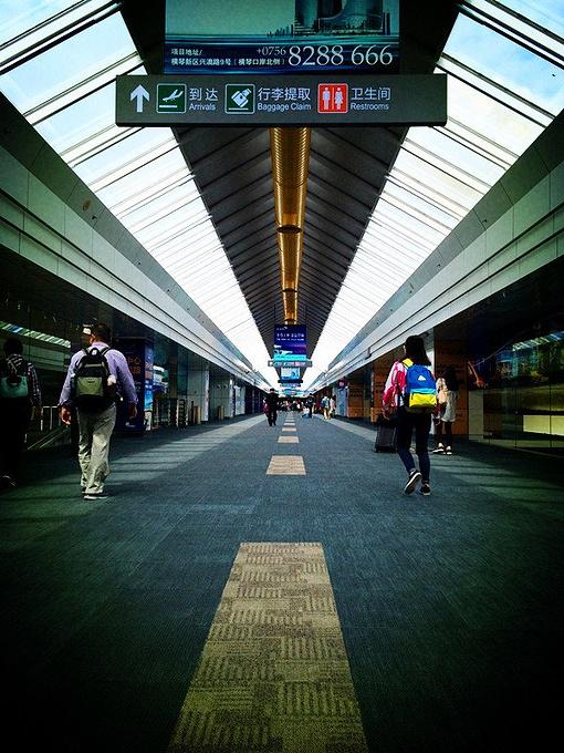 珠海金湾机场图片
