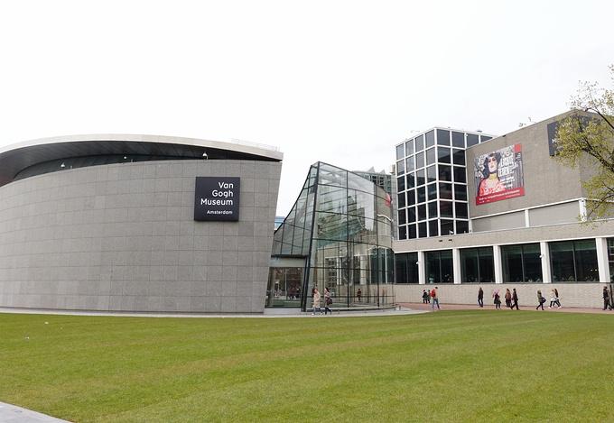 梵高美术馆图片