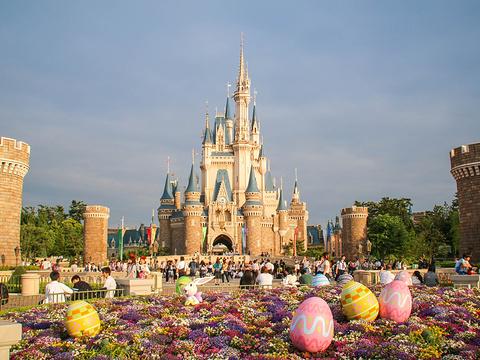 东京迪士尼乐园旅游景点图片