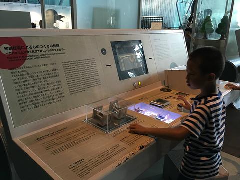 日本未来科学馆旅游景点攻略图