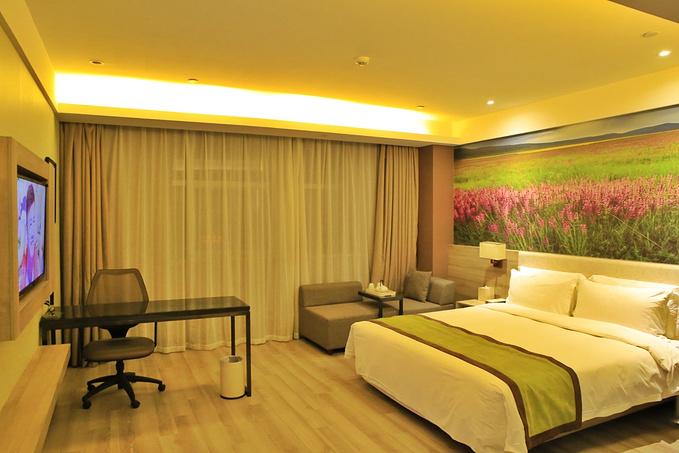 西宁夏都亚朵酒店图片