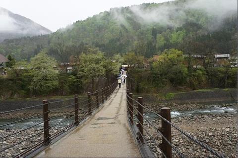 白川乡合掌村旅游景点攻略图