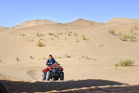张掖国家沙漠体育公园旅游景点攻略图