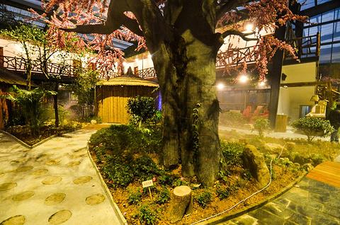 石川坞生态农庄餐厅旅游景点攻略图