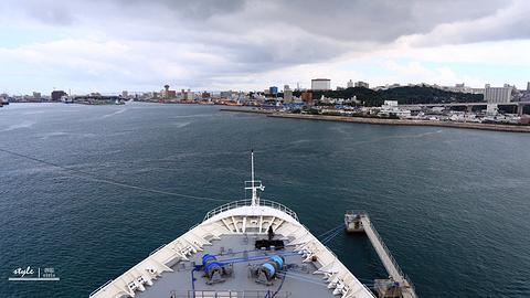 那霸港旅游景点攻略图