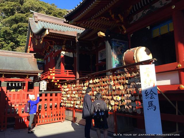 """""""树冠像云一样的古松,感觉日本园艺真是写意。_鹤冈八幡宫""""的评论图片"""