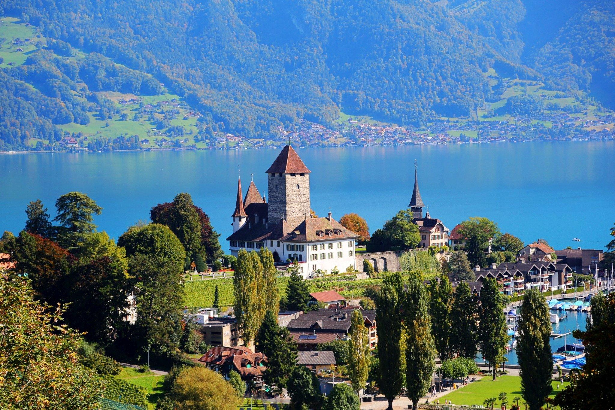 那是一个与世隔绝的地方---瑞士1