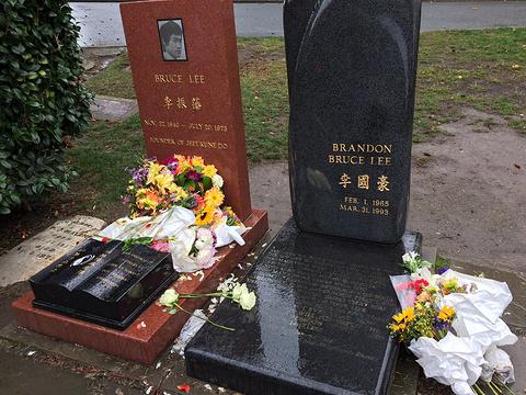 李小龙墓旅游景点图片