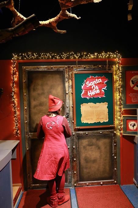 圣诞老人办公室图片