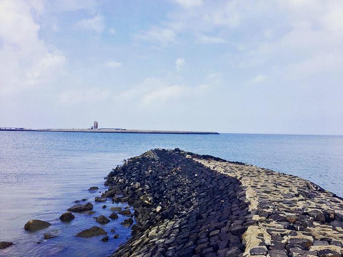 海口滨海大道图片