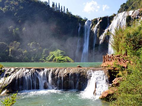 九龙瀑布群旅游景点图片