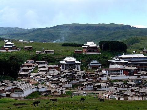 达合仓郎姆赛赤寺旅游景点图片