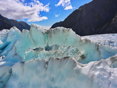 弗朗兹约瑟夫冰川旅游景点图片