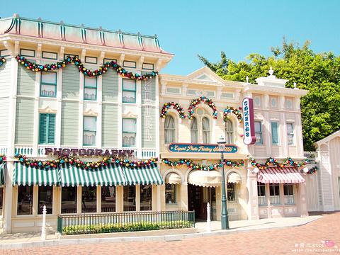 美国小镇大街旅游景点图片