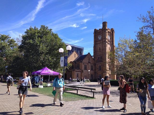 """""""我对大学有一种""""未完待续""""的小情绪。这就..._墨尔本大学""""的评论图片"""