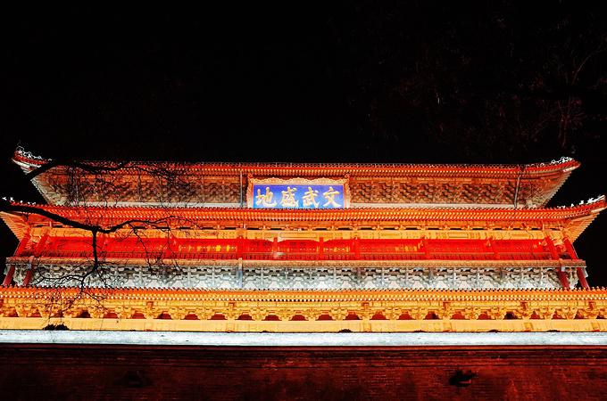 西安鼓楼图片