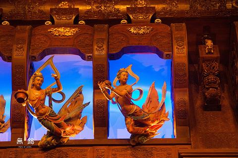 灵山梵宫的图片