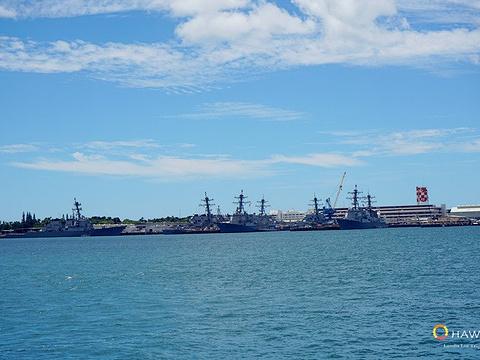 美国海军亚利桑那号战列舰纪念馆旅游景点图片
