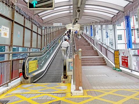 中环至半山自动扶梯旅游景点图片