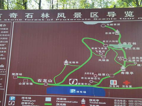毛家峪长寿度假村元古奇石林旅游景点图片