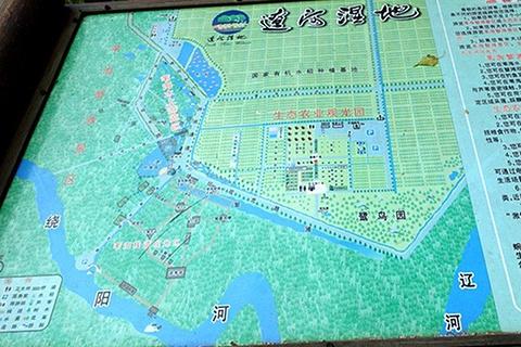 盘锦鸟乐园旅游景点攻略图