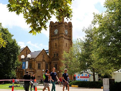 墨尔本大学旅游景点图片