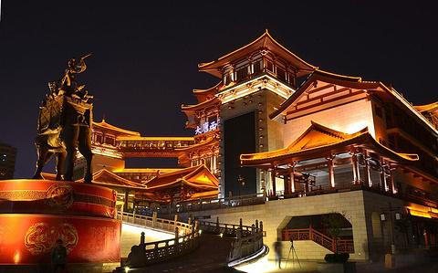 大唐西市旅游景点攻略图