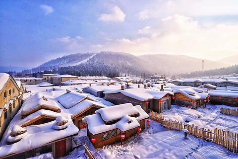 中国雪乡的图片