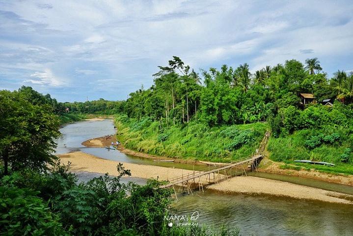 邦是由湄公河和南康河汇合堆积而成的,相比湄公河,南康河是另一图片