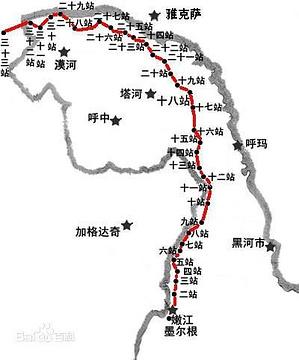 十八站遗址旅游景点攻略图