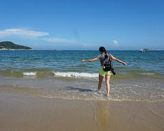 爱上东山岛,醉在蓝天碧水之中