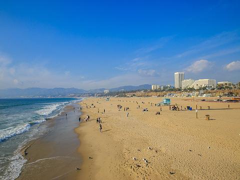 圣莫尼卡海滩旅游景点图片