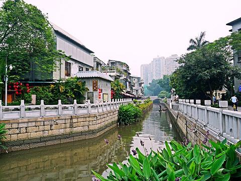 荔枝湾涌旅游景点图片