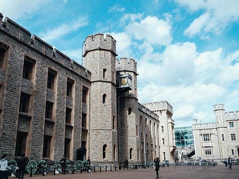 伦敦塔旅游景点图片