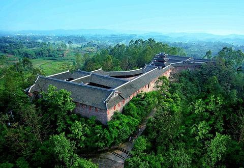 宝箴塞民俗文化村旅游景点攻略图