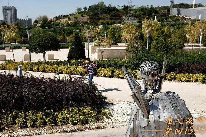 游览伊朗圣战博物馆图片
