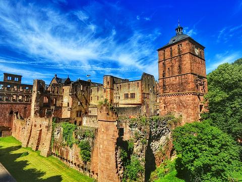 海德堡城堡旅游景点图片