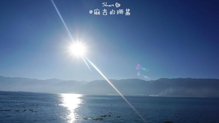 """""""玉玑岛(门口有村民售票,10元/人)景色还是不错的,它是洱海三岛之一哦,位于洱海西面。_玉玑岛""""的评论图片"""