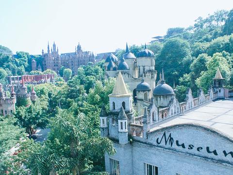 华生园梦幻城堡旅游景点图片
