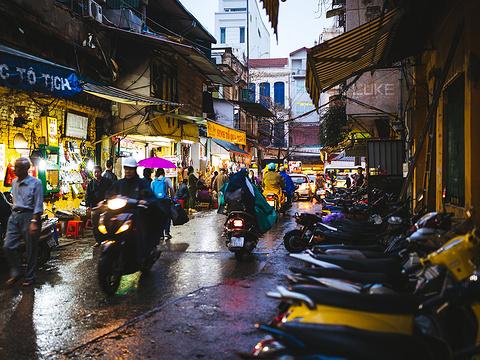 河内夜市旅游景点图片