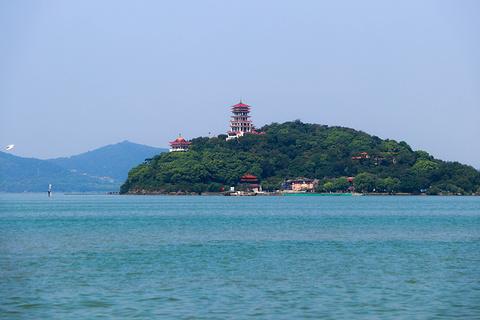 太湖仙岛的图片