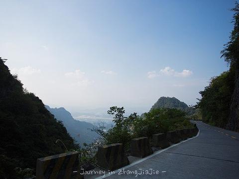 天门山通天大道旅游景点图片