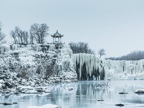 吊水楼瀑布旅游景点图片