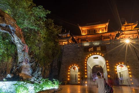 酉州古城旅游景点攻略图