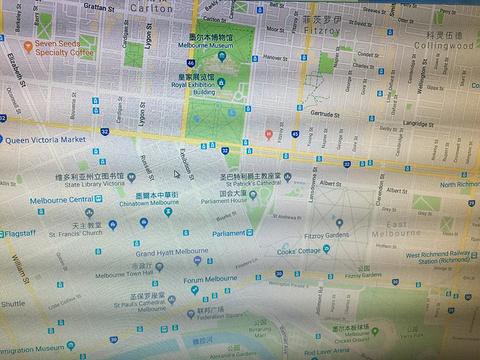 联邦广场旅游景点攻略图