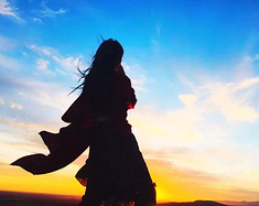 96年妹子一个人游走甘肃,七天时间,用1500元带你了解辽阔壮美的大西北风光